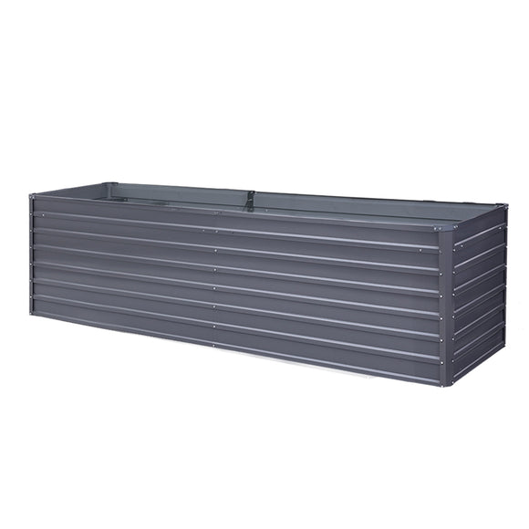 Raised Garden Bed Grey 320 x 80 x 77