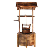 Cute Mini Wooden Wishing Well