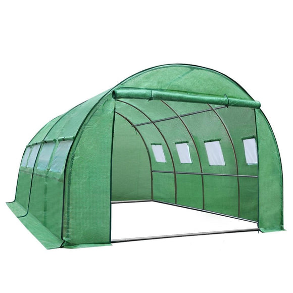 💎 Greenhouse Garden Plant Storage Grow Tunnel 4 X 3 Metres
