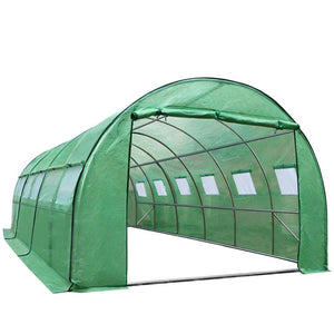 Greenhouse Garden Plant Storage Grow Tunnel 6 X 3 Metres
