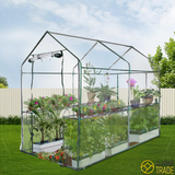 Greenhouse Garden Growing Plant Storage Clear 1.2 X 1.9 Metres
