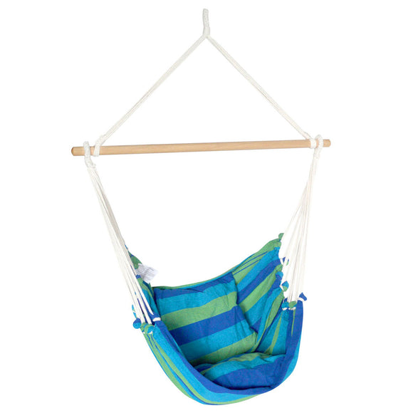 Hammock Chair Blue and Green