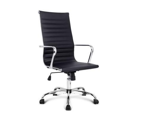Modern High Back Office Chair PU Leather