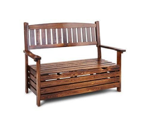 💎 Outdoor Garden Storage Bench Charcoal