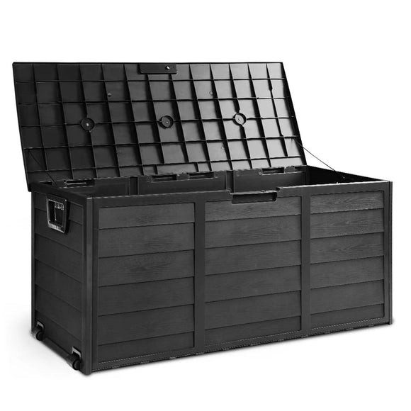 Lockable Outdoor Weatherproof Storage Box 290L