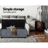 Multi-functional Velvet Storage Ottoman