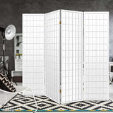 Classic Room Divider Privacy Screen White (3, 4, 6 or 8 Panel)