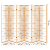 Classic Room Divider Privacy Screen Natural (3, 4, 6 or 8 Panel)