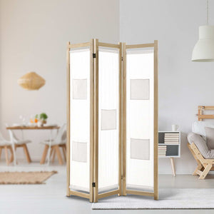 Natural Look Room Divider Privacy Screen (3, 4 & 6P)