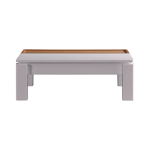 Modern Two-Tone Lift Up Top Coffee Table