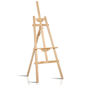 💎 Modern Floor Easel 148cm White Oak