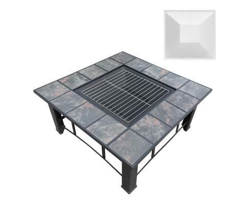 All Seasons Multi Purpose Square Fire Pit