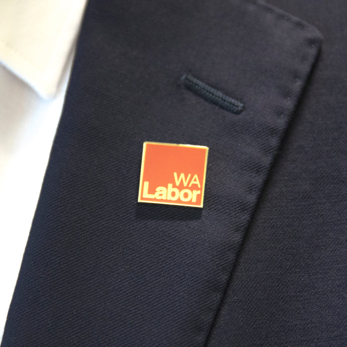 WA Labor Lapel Pin