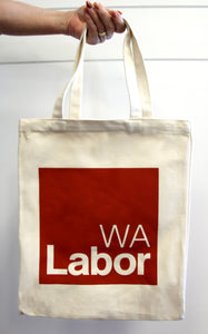 WA Labor Canvas Bag