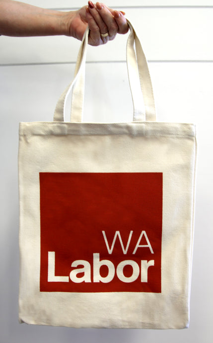 WA Labor Canvas Bag (pack of 10)