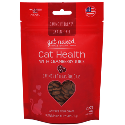 Get Naked® Cat Health with Cranberry Juice Crunchy Treats