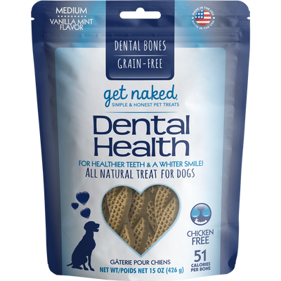 Get Naked® Dental Health Bone 15oz