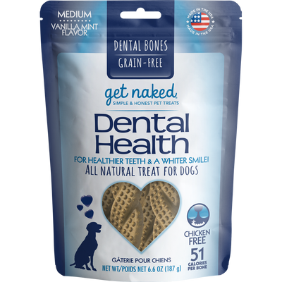 Get Naked® Dental Health Bone Vanilla Mint 6.6oz