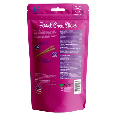 N-Bone® Ferret Chew Treats in Bacon
