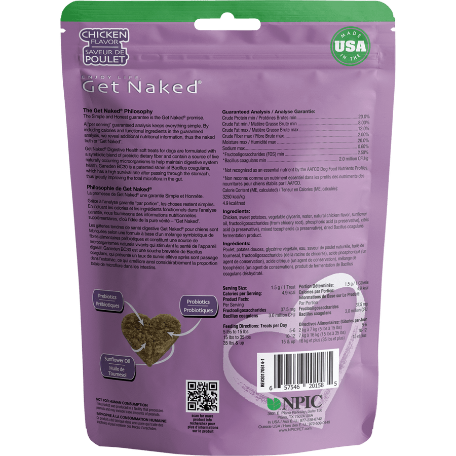 Get Naked® Digestive Health Soft Treats