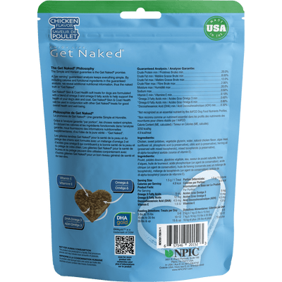 Get Naked® Skin & Coat Health Soft Treats
