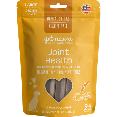 Get Naked® Joint Health Dental Chew Sticks