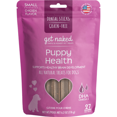 Get Naked® Puppy Health Dental Chew Sticks