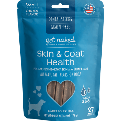 Get Naked® Skin & Coat Health Dental Stick Chews