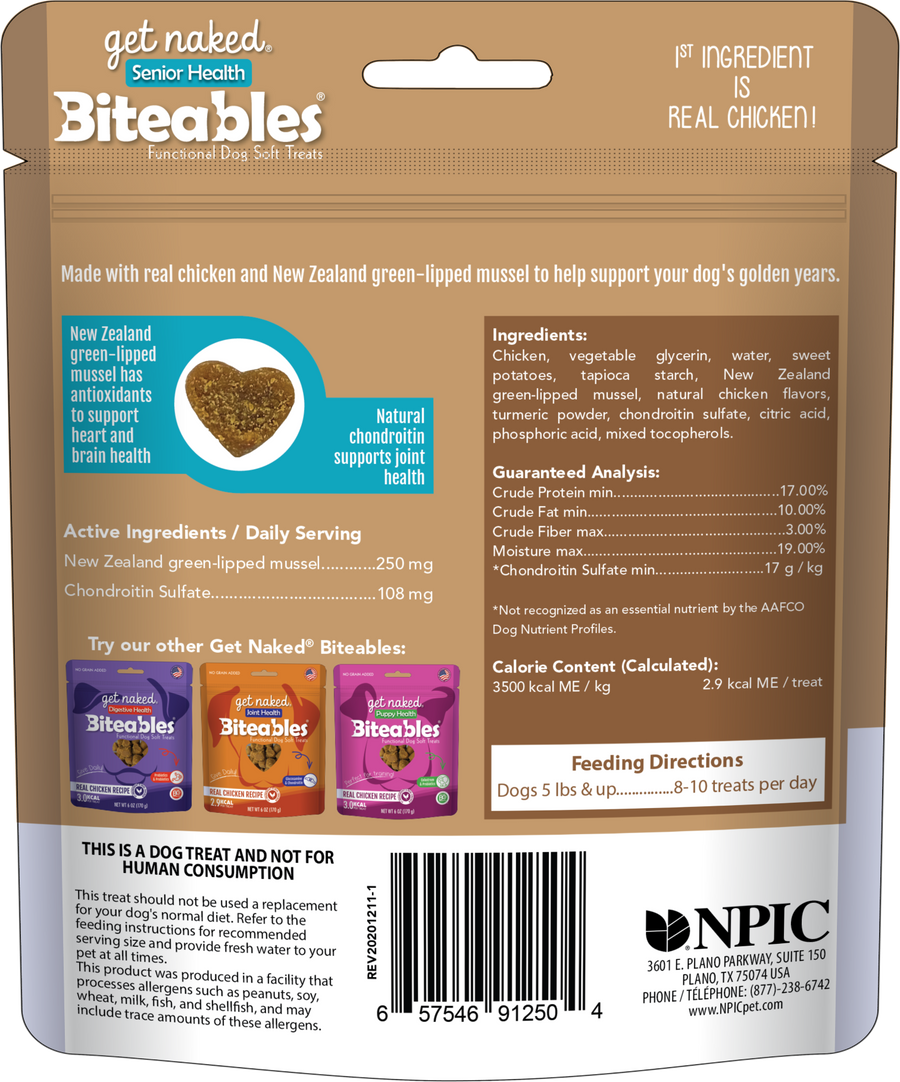 Biteables Senior Health Functional Soft Treats