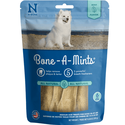 N-Bone® Bone-A-Mints® Medium 6 Pack
