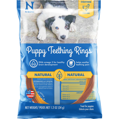 N-Bone® Puppy Teething Rings Chicken