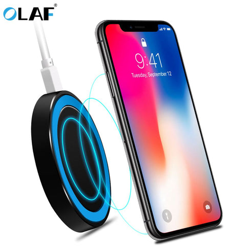 Wireless Phone Charger for iPhone 8, 8+, X
