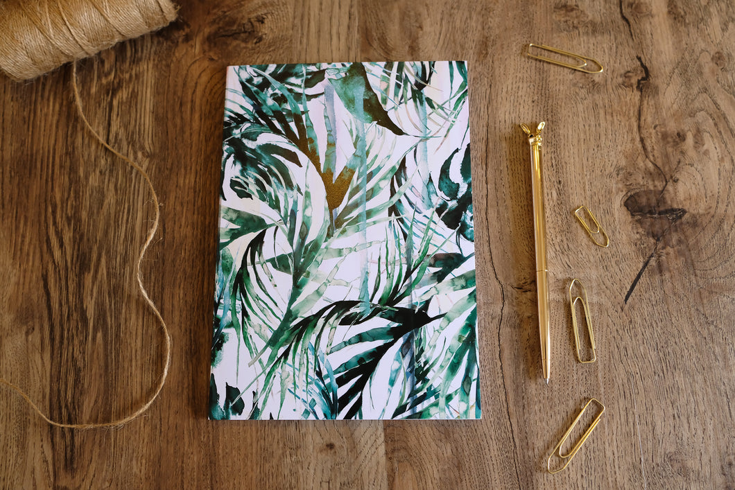 Paradise Palms A5 Notebook