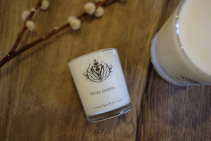 White Jasmine Candle - Small