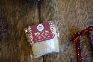 Frankincense & Winter Wonderland Bath Tea Bag