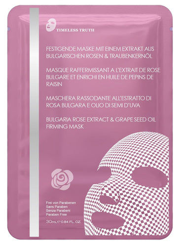 Timeless Truth Bulgarian rose and grapeseed oil firming mask 30ml