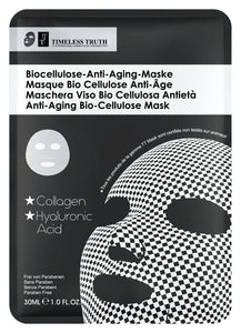 Timeless Truth anti ageing Bio cellulose mask with collagen 30ml