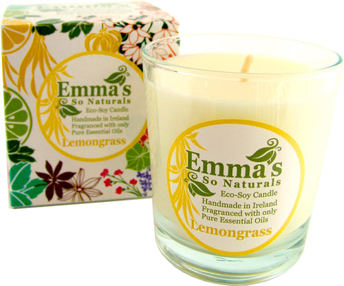 Emmas Eco Soy Lemongrass Candle