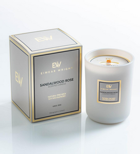 Eimear Wright Sandalwood Rose Candle 250g