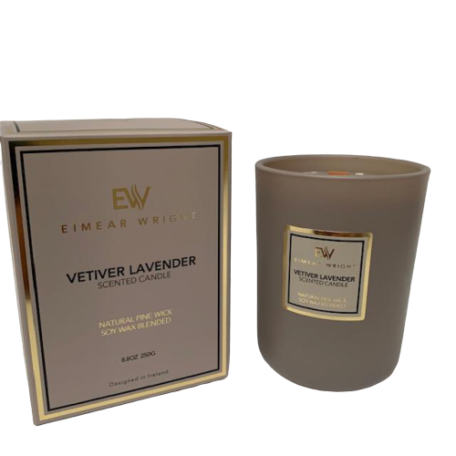 Eimear Wright Vetiver Lavender Candle 250g