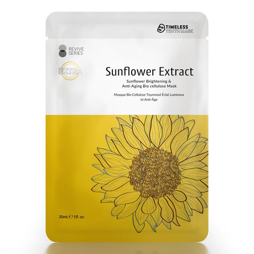 Timeless Truth Sunflower Brightening & Anti Aging Bio Cellulose Mask