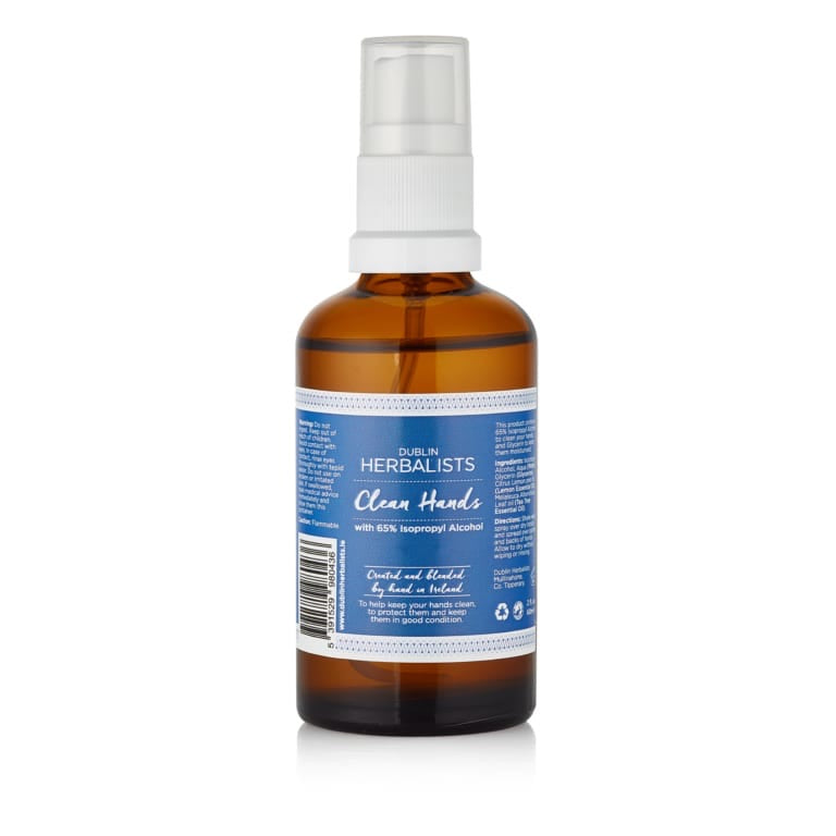 Dublin Herbalists Clean Hands Sanitiser 60ml