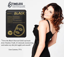 Timeless Truth Luxurious Gold Black Charcoal Mask 30ml
