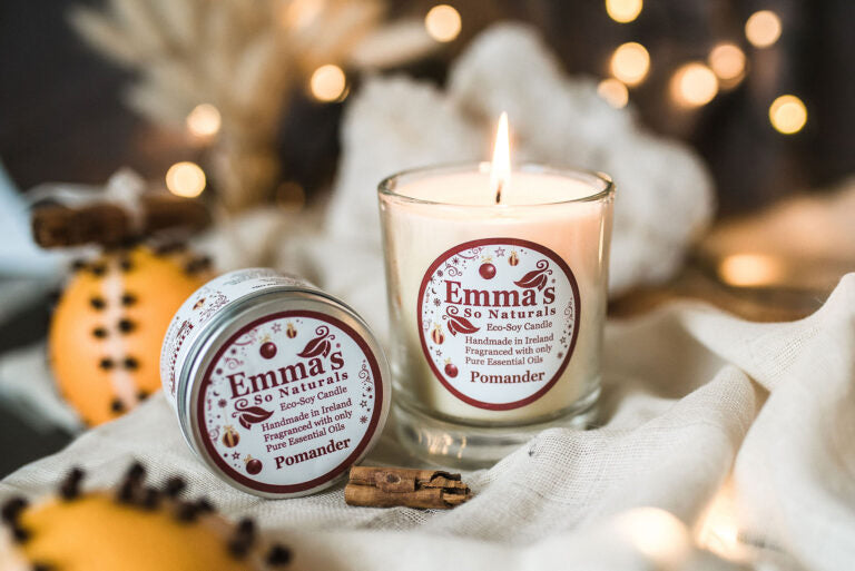 Emma's Eco Soy Pomander Candle