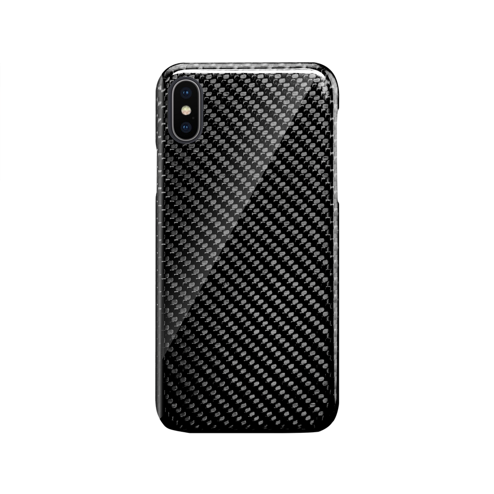 Carbon Fiber iPhone X / XS Case - INTERIOREX