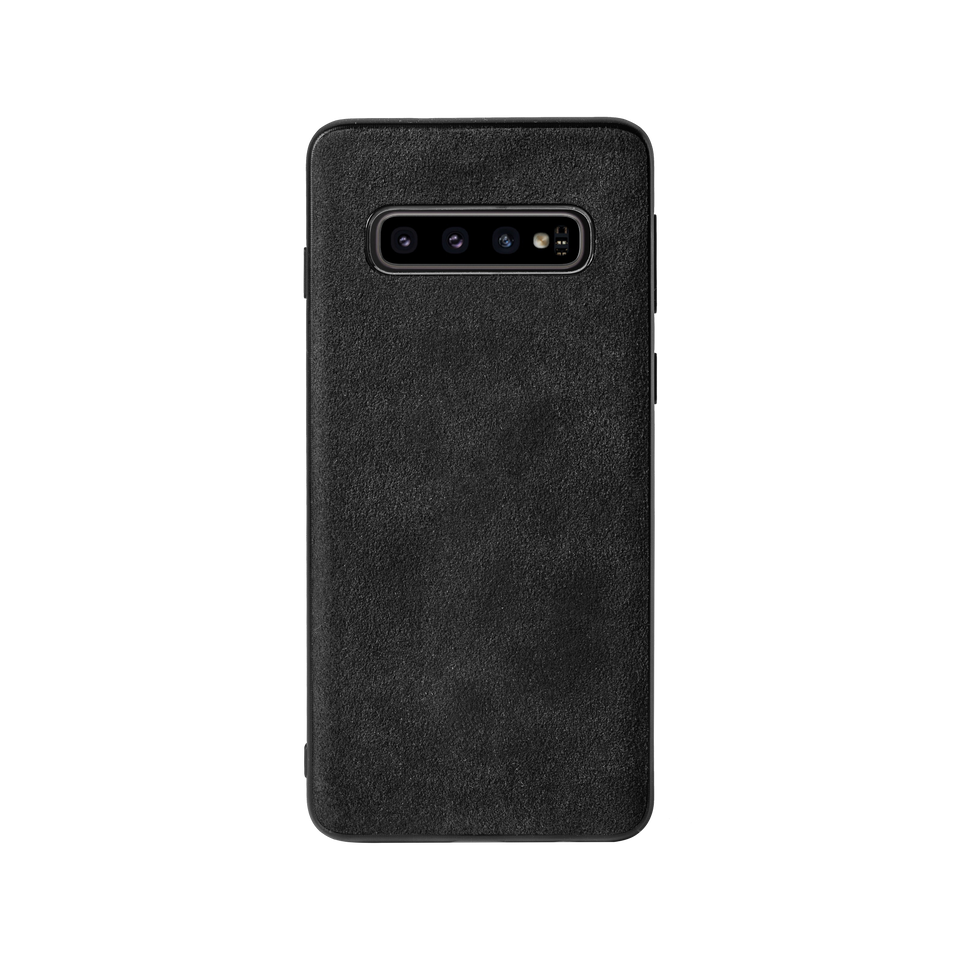 Custom Alcantara Samsung Galaxy S10 Case - INTERIOREX