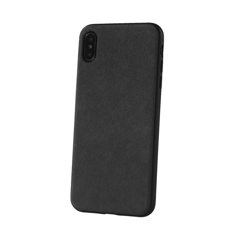 alcantara iphone xs case