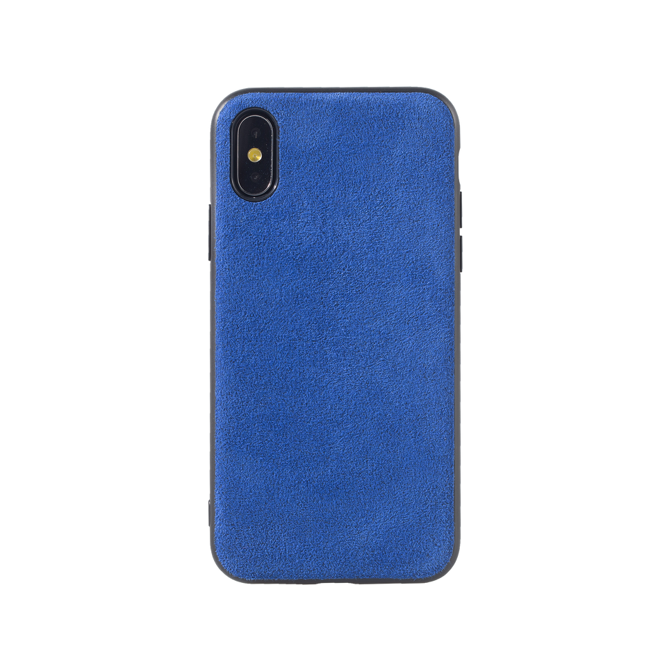 Custom Alcantara iPhone XS Case - INTERIOREX