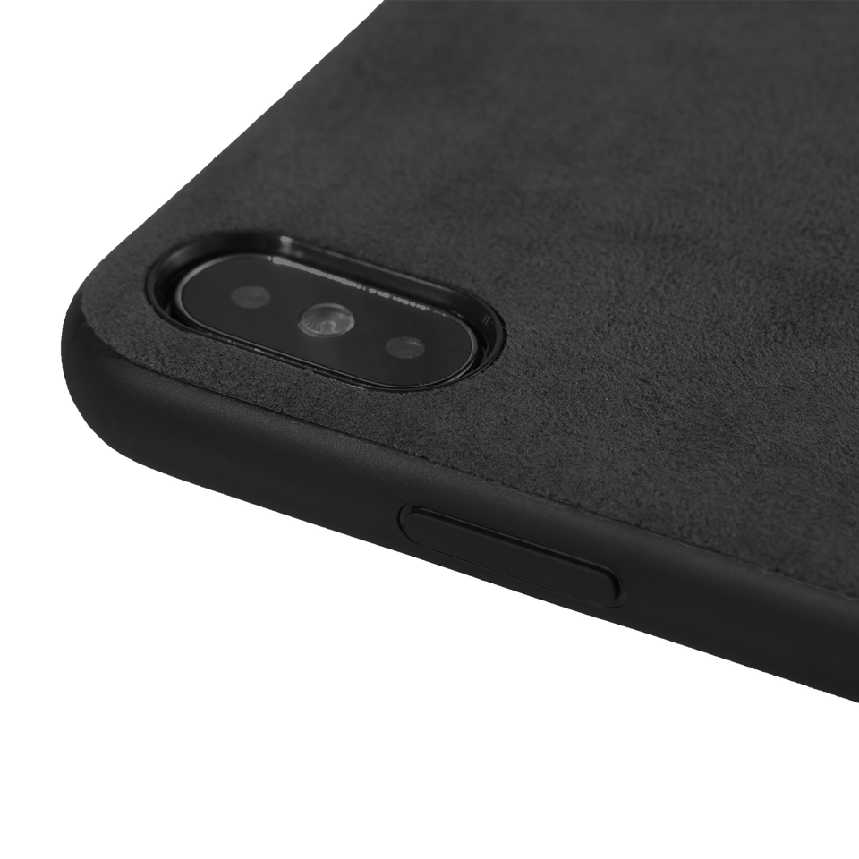 Alcantara iPhone XS Max Case - INTERIOREX