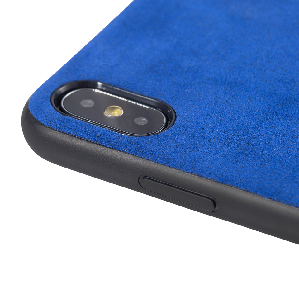 Custom Alcantara iPhone X Case - INTERIOREX
